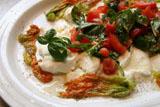 Mozzarella con salsa di pomodori