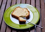 Einfacher Rührkuchen mit Zitrone