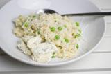 Erbsen-Risotto aus dem Ofen