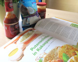 Putenschnitzel in Kokospanade