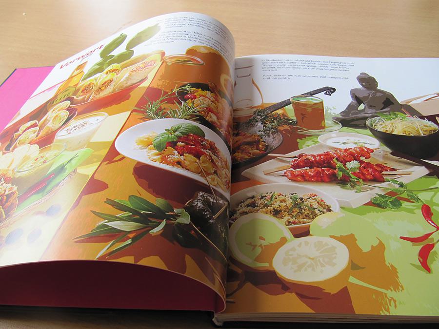 Blick ins Kochbuch